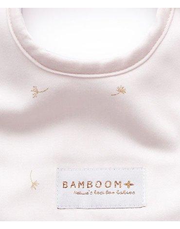 Bamboom - Śliniaczek Bambusowy, Pink Flower, 0m+