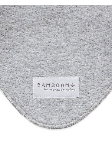 Bamboom - Apaszka Bambusowa, Grey Melange, 0m+