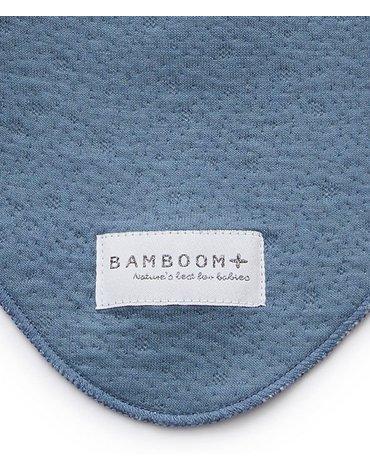 Bamboom - Apaszka Bambusowa, Blue Cobalt, 0m+