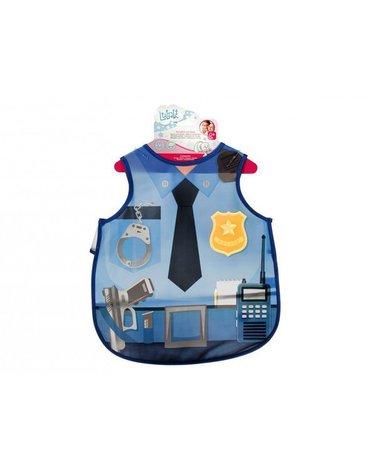 Lulabi - Fartuszek dla Dziecka, Policjant, 12m+