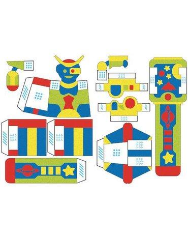 Sabbiarelli - Magiczny Piasek do Kolorowania, Pocket Kit, Galaxy, 5l+