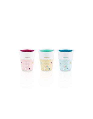 Babymoov Zestaw 3 różnokolorowych kubeczków A005006