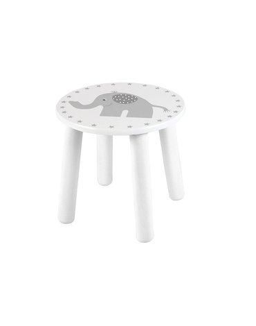 JaBaDaBaDo - Krzesełko szary słonik