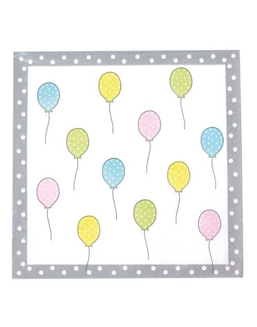 JaBaDaBaDo - Serwetki urodzinowe  Birthday