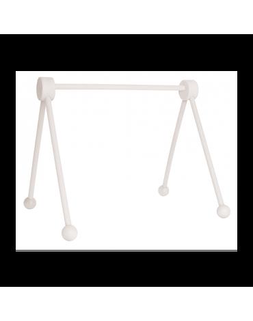 JaBaDaBaDo - Drewniany stojak edukacyjny -baby gym biały