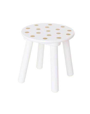 Krzesełko złote kropki JABADABADO