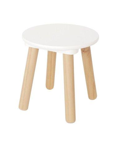 Krzesełko biało naturalne JABADABADO