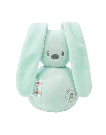Nattou Lapidou Pozytywka królik Mint NT878791