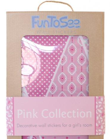 FunToSee Różowe chorągiewki FTS04016