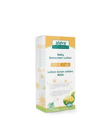 Aleva Naturals Balsam do Opalania SPF 45+