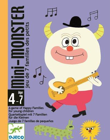 Djeco - Gra karciana MINI POTWORKI DJ05124
