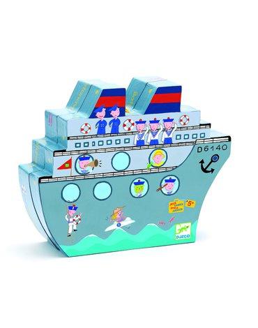 Djeco - Gra planszowa w statki DJ05270