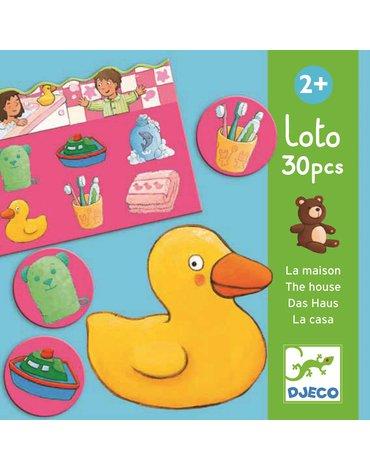 Djeco - Gra edukacyjna lotto DOM DJ08121