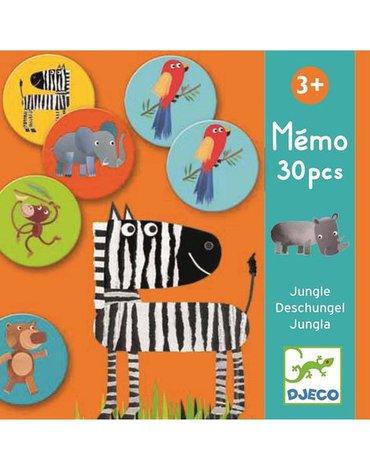 Djeco - Gra pamięciowa Dżungla 30 elementów DJ08159