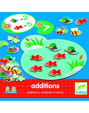 Djeco - Eduludo-Additions-nauka liczenia DJ08312