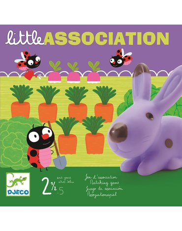 Djeco - Gra planszowa LITTLE ASSOCIATION DJ08553