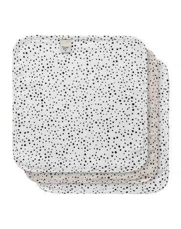 bebe-jou Chusteczki bambusowo-muślinowe 32 x 32 cm 3 szt Fabulous Dots 3053059