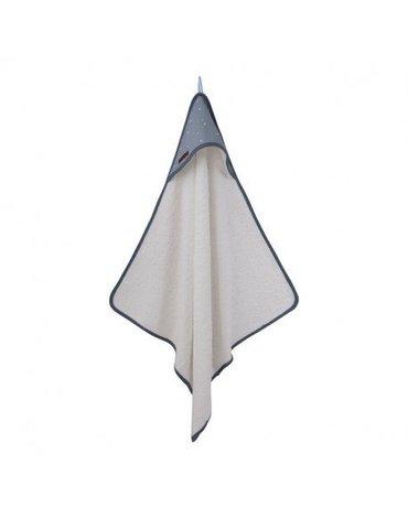 Little Dutch Bawełniany ręcznik Little stars Blue 3349