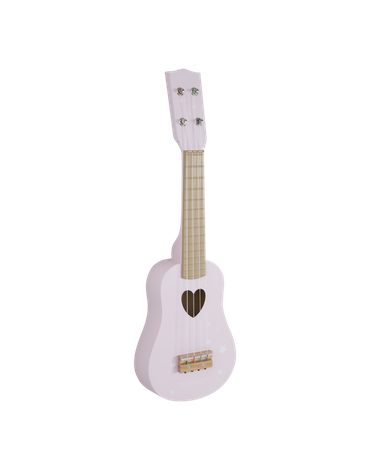 Little Dutch Gitara Róż LD4408