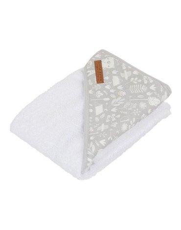 Little Dutch Bawełniany ręcznik Adventure Grey TE50620330