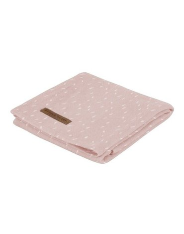 Little Dutch Otulacz 120 x 120 cm Pink Sprinkles 3773
