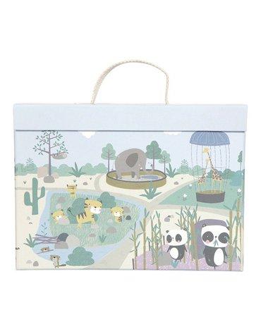 Little Dutch Przenośne Zoo w walizeczce LD4445