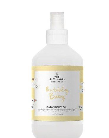 The Gift Label Wegańska oliwka do masażu dla dzieci Bubbly Baby 250 ml