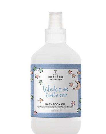 The Gift Label Wegańska oliwka do masażu dla dzieci Welcome Little One  250 ml