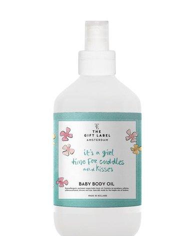 The Gift Label Wegańska oliwka do masażu dla dzieci It's a Girl 250 ml
