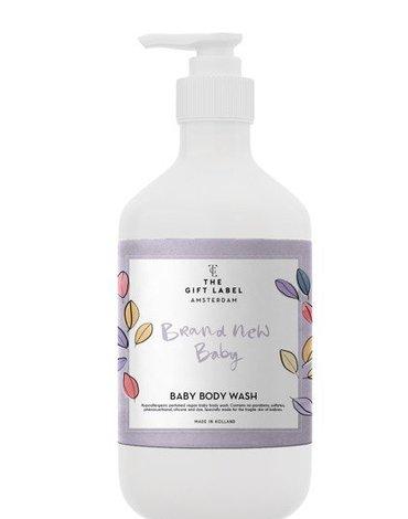 The Gift Label Wegański żel do mycia dla dzieci Brand New Baby 250 ml