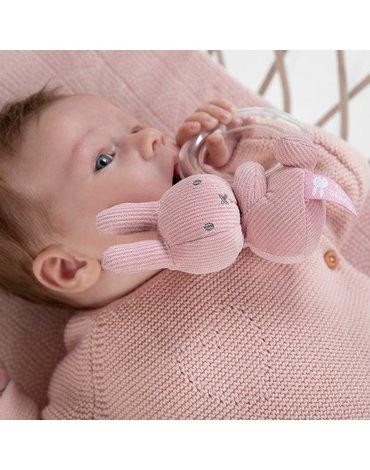 Tiamo Miffy Pink Babyrib Grzechotka NIJN603