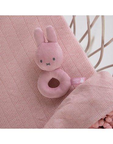 Tiamo Miffy Pink Babyrib Grzechotka miękka NIJN611