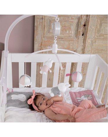 Tiamo Miffy Pink babyrib Karuzela do łóżeczka NIJN621