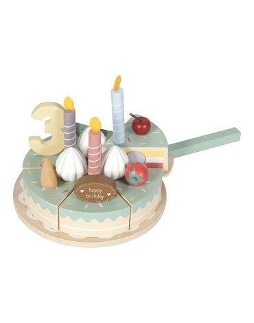 Little Dutch Drewniany torcik urodzinowy LD4474