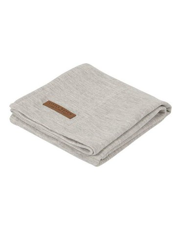 Little Dutch Otulacz 120 x 120 cm Pure Grey TE50430130