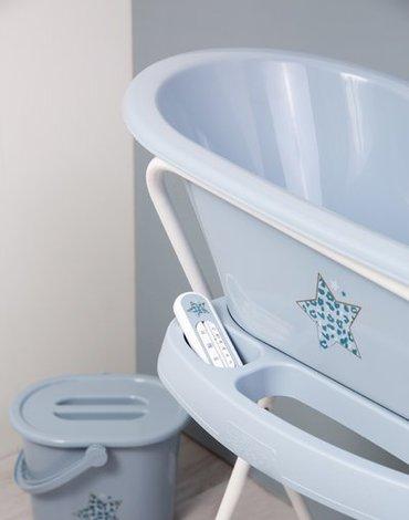 Bebe-Jou - bébé-jou Termometr kąpielowy Leopard Blue 6236122