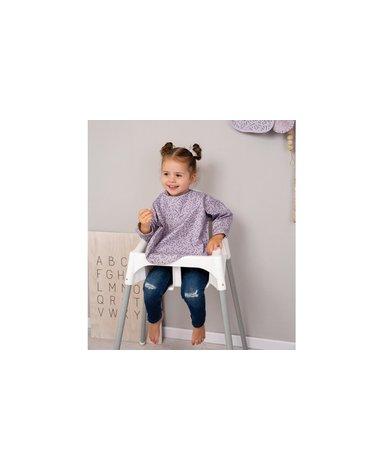 Bebe-Jou - bébé-jou Śliniak z długim rękawem Fabulous Zebra 3058200