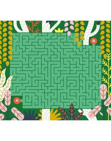Auzou Kreślenie po śladach - Labirynty w dżungli 3+ 70259