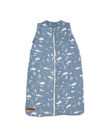 Little Dutch Lekki śpiworek bawełniany Ocean Blue 90 cm TE11420640