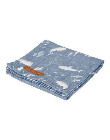 Little Dutch Otulacz 120 x 120 cm Ocean Blue TE50420640