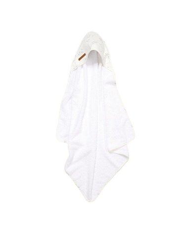 Little Dutch Bawełniany ręcznik Ocean White TE50620690