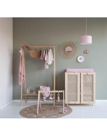 Little Dutch Apaszko-bandanka Lily Leaves Pink TE50120850