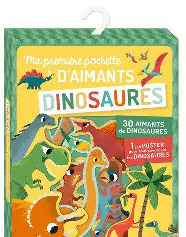 Auzou Zestaw magnesów 35 szt. Dinozaury 4+ 62513