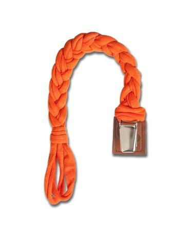 Hi Little One - warkoczykowa zawieszka do smoczka Pacifier holder Apricot