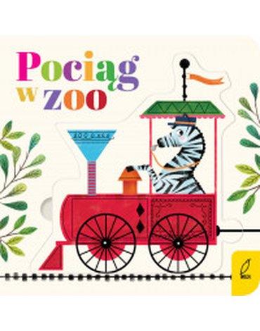 Wilga / GW Foksal - Czytanki-układanki. Pociąg w zoo