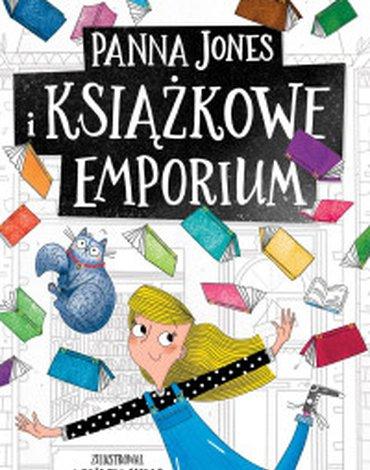 Zielona Sowa - Panna Jones i Książkowe Emporium