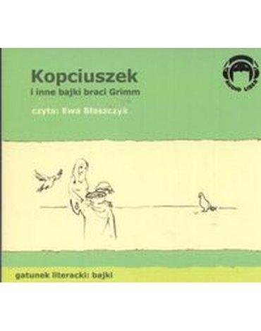 Audio Liber - Kopciuszek i inne bajki Braci Grimm (Płyta CD)