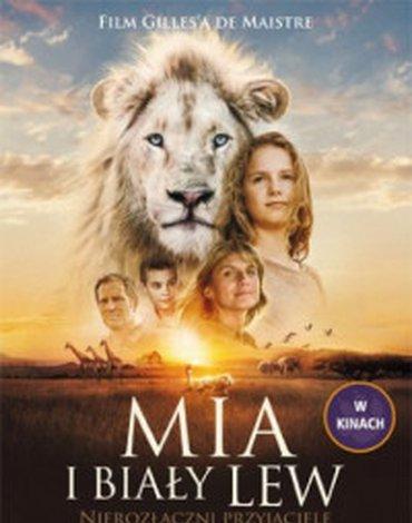 Media Rodzina - Mia i biały lew. Nierozłączni przyjaciele