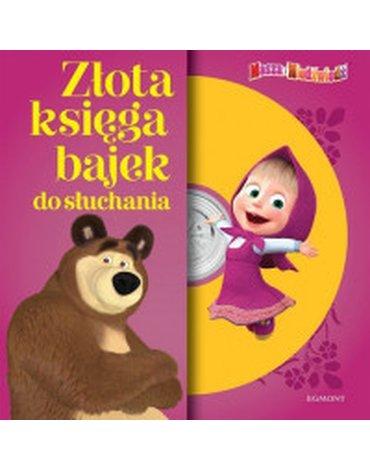 Egmont - Masza i Niedźwiedź. Złota księga bajek do słuchania + CD