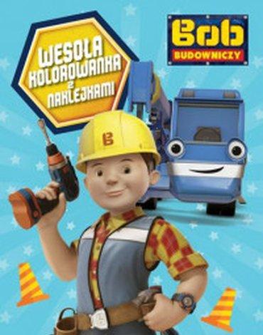 Egmont - Bob Budowniczy. Wesoła kolorowanka z naklejkami